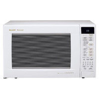 Sharp 1.5 Cu. Ft. 900W Convection Microwave Oven - White
