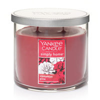 Yankee Candle simply home Cinnamon Pine 10-oz. Jar Candle, Red