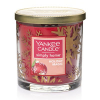 Yankee Candle simply home Holiday Magic 7-oz. Jar Candle, Red