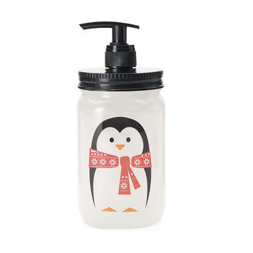Simple Pleasures Winter Cheer Penguin Mason Jar Hand Soap, Other Clrs