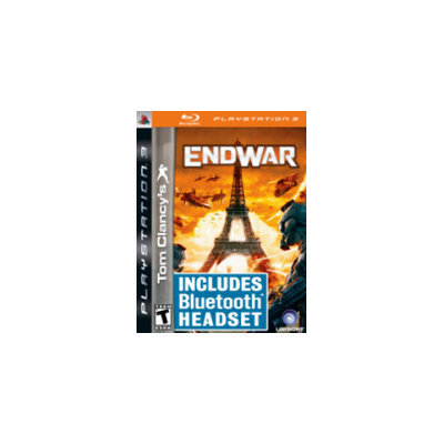 UbiSoft Tom Clancy's End War - with Headset Bundle