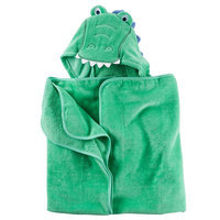 Carter's® Baby Boys Alligator Puppet Towel