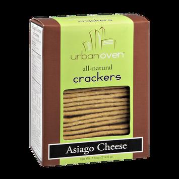 Urban Oven Asiago Cheese Crackers