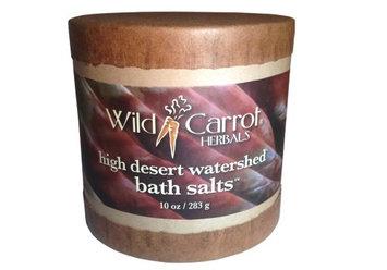 Watershed Bath Salts High Desert Wild Carrot Herbals 10 oz Salt