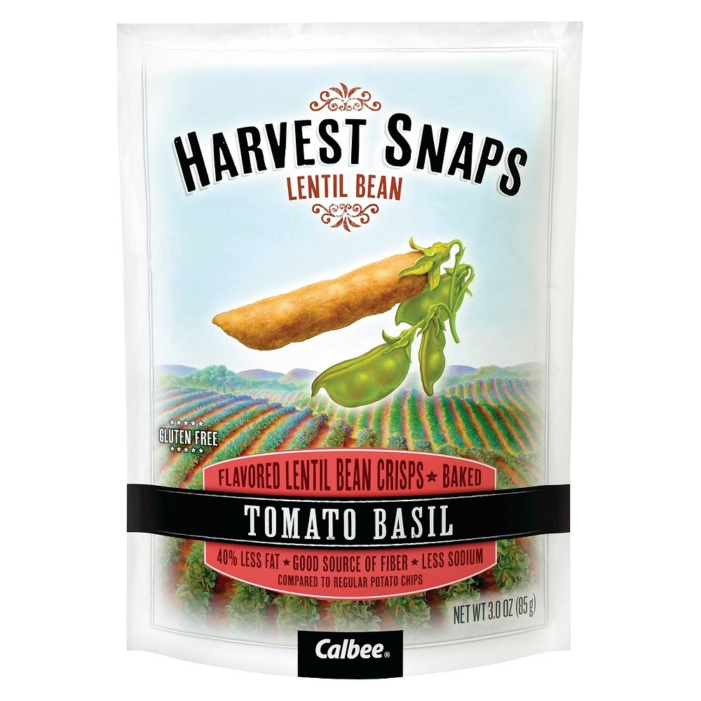 Calbee Lentil Snaps Tomato Basil