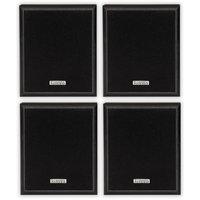 2 Pair of Acoustic Audio RWSP3 100 Watt Home Audio Bookshelf Stereo Speakers