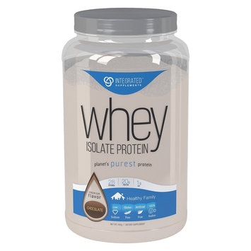 Integrated Supplements, CFM Whey Protein Isolate Rich Dutch Chocolate 2 lbs
