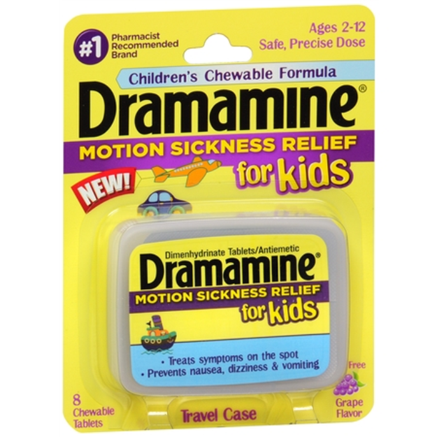Dramamine Motion Sicknes Relief for Kids