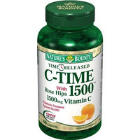 Nature's Bounty Time Released C-1500 with Rose Hips, 60-Count