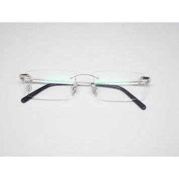 Cartier Decor C Platinum Finish Metal Women's Optical Glasses T8100686
