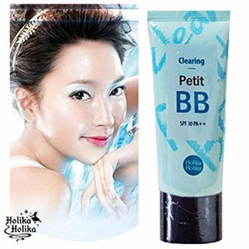 Holika Holika Pore Clearing Petit BB Cream with Tea Tree Oil and Sebum Control Powder 30ML