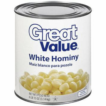 Great Value White Hominy