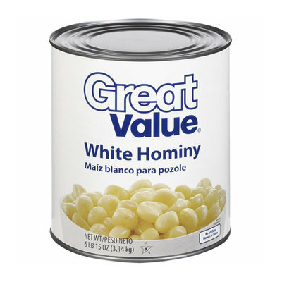Great Value White Hominy