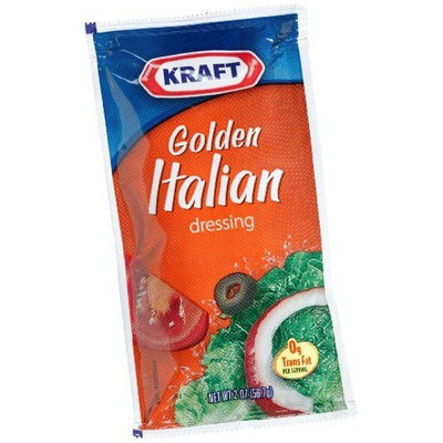 Kraft Foods Kraft Golden Italian Salad Dressing, 2-Ounce Packages (Pack of 100)