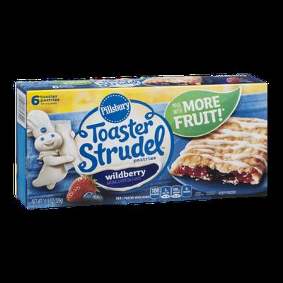 Pillsbury Toaster Strudel Pastries Wildberry - 6 CT