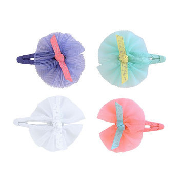 Carter's 4-Pack Tulle Hair Clips