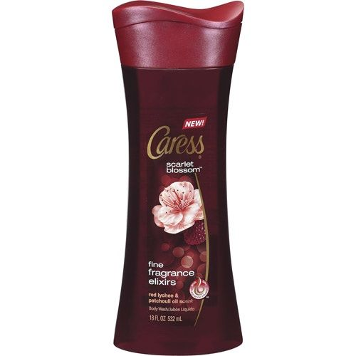 Caress® Scarlet Blossom™ Fine Fragrance Elixirs Body Wash