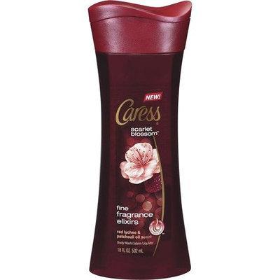 Caress® Scarlet Blossom™ Fine Fragrance Elixirs Body Wash