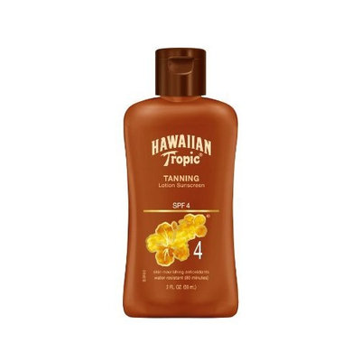 Hawaiian Tropic Hawiian Tropic Dark Tanning Lotion SPF4 Travel Size, 2-Fluid Ounce (Pack of 4)