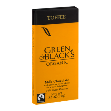 Green & Black's Organic Milk Chocolate Toffee