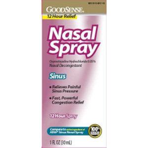 Nasal Sinus 12 Hour Relief Nasal Spray - 1 Oz