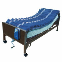 Drive Medical Med Aire Low Air Loss Mattress Overlay System with APP, 1 ea