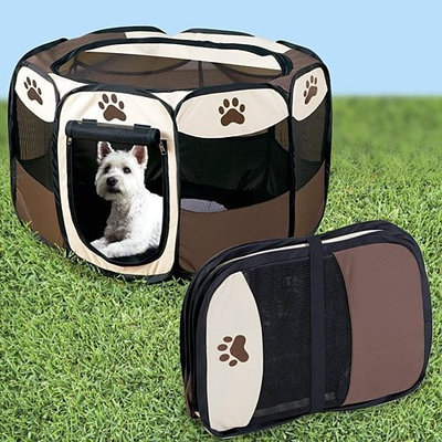 Unknown Portable Doggie Play Pen, Small Size