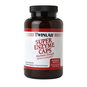 Twinlab Super Enzyme Caps, 240 ea