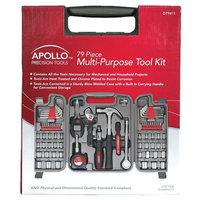 Apollo 79 Piece Multi-Purpose Tool Kit - Gray
