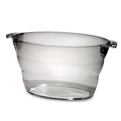 Prodyne Big Oval Party Tub, Clear BULK, 1 ea