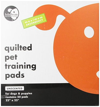 Lola Bean Unscented Quilted Training Pads 22x22