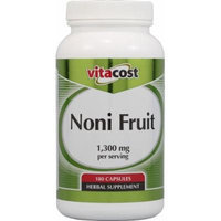 Vitacost Noni Fruit -- 1,300 mg per serving - 180 Capsules