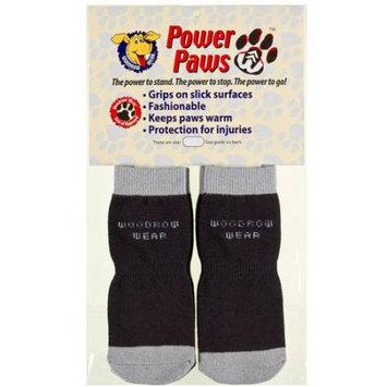 Woodrow Wear Power Paws Advanced Extra Extra Small Black/Grey