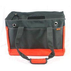 Prefer Pets 818OR Orange-Gray Pet Tote Carrier