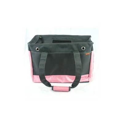 Prefer Pets 818PK Pink-Gray Pet Tote Carrier