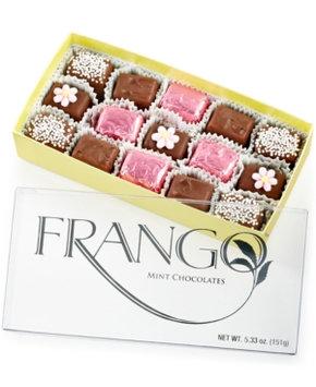 Frango Chocolates, 5.33 Oz. Flower Decorated Milk Chocolate Box of Chocolates