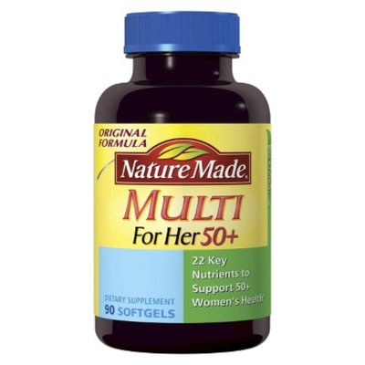 Nature Made NatureMade Multi for Her 50+ Softgels - 90 Count