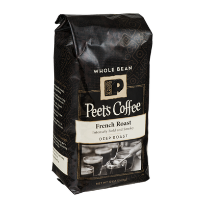 Peet's Coffee French Roast Deep Roast Whole Bean Coffee