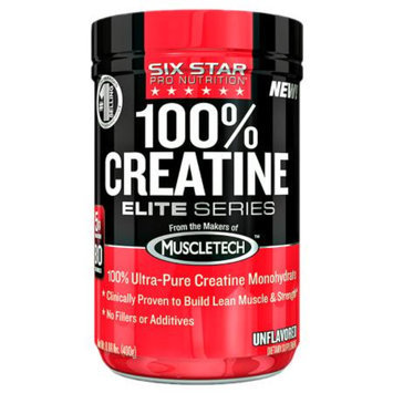 Six Star Elite Series 100% Creatine, Unflavored, .88 lb