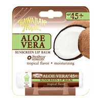 Hawaiian Tropic® SPF 45+ Aloe Vera Sunscreen Lip Balm