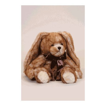 Toasty Aroma Brown Bunny - Aromatherapy Stuffed Animal - Hot And Cold Therapy