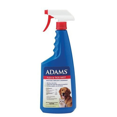Adams Flea & Tick Mist with Precor, 32-ounce