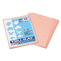 Pacon Tru-Ray Construction Paper, Salmon