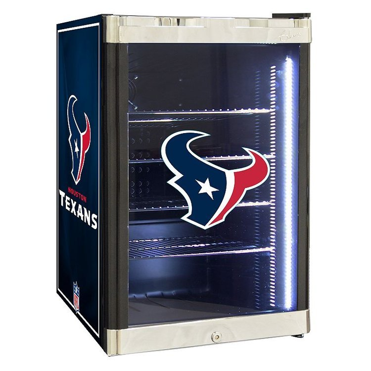 Nfl Houston Texans 2.5 cu. ft. Refrigerated Beverage Center, Multi/None