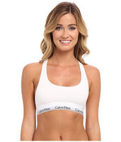 Calvin Klein Modern Cotton Bralette-WHITE-Small