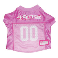 Pets First San Francisco 49ers Pink Jersey