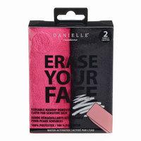 Danielle Creations Erase Your Face 2-pk. Reusable Makeup Removing Cloth, Multicolor