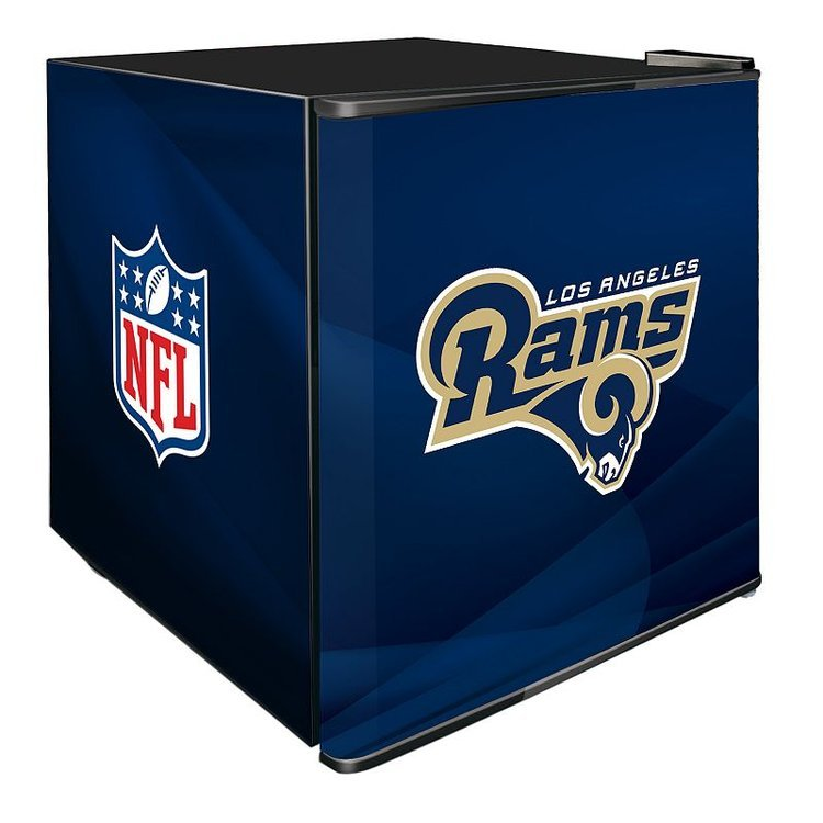 Nfl Los Angeles Rams Refrigerated Beverage Center, Multi/None