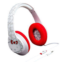 Hello Kitty® Over-the-Ear Headphones by iHome, Multicolor