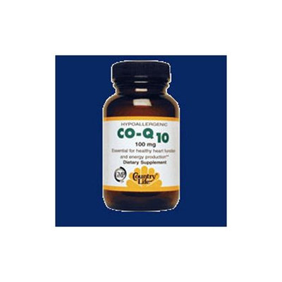 Country Life Coenzyme Q10 100 Mg 30 Caps